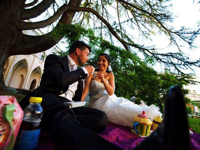 Il matrimonio di Valerio e Brigida a Grottaferrata, Roma 17
