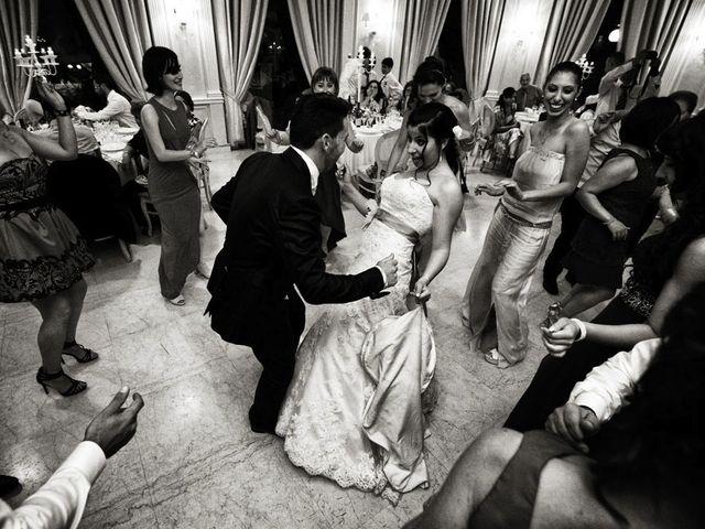 Il matrimonio di Valerio e Brigida a Grottaferrata, Roma 22