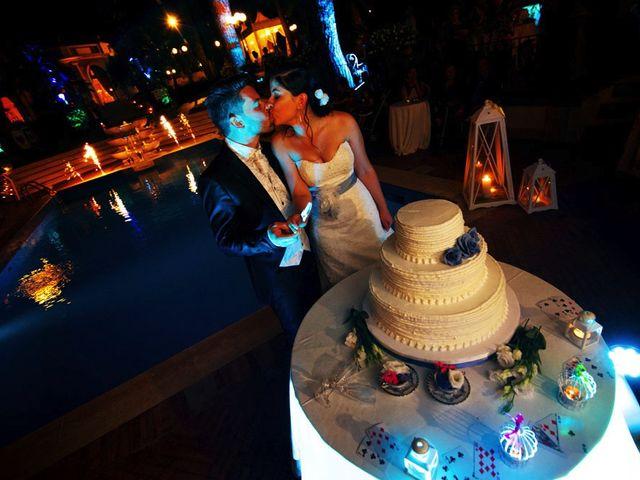 Il matrimonio di Valerio e Brigida a Grottaferrata, Roma 23