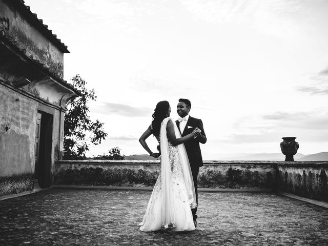 Le nozze di Trusha e Sanjay