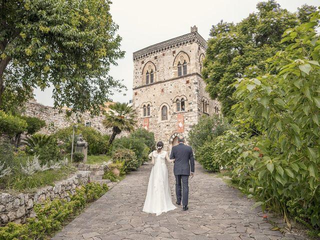 Il matrimonio di Daisy e Sergio a Taormina, Messina 11