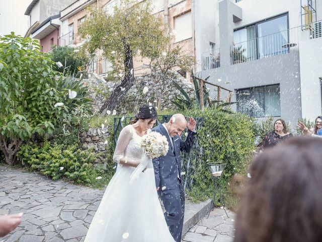 Il matrimonio di Daisy e Sergio a Taormina, Messina 20