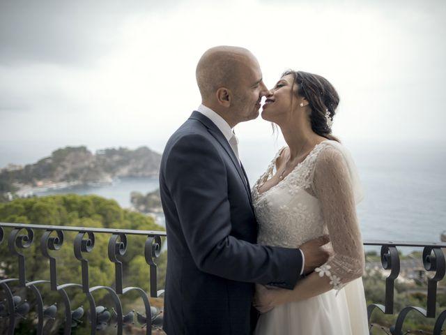 Il matrimonio di Daisy e Sergio a Taormina, Messina 1