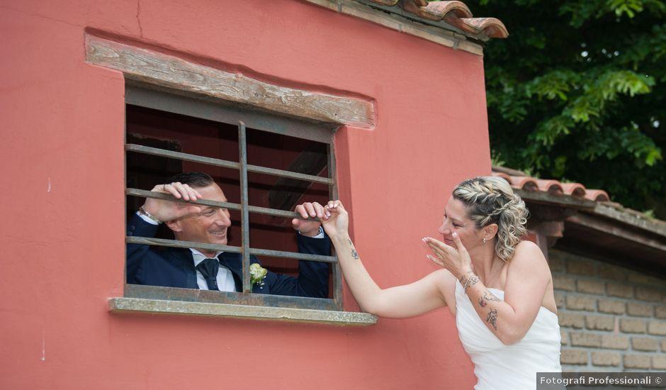 Il matrimonio di Fabio e Francesca a Anguillara Sabazia, Roma