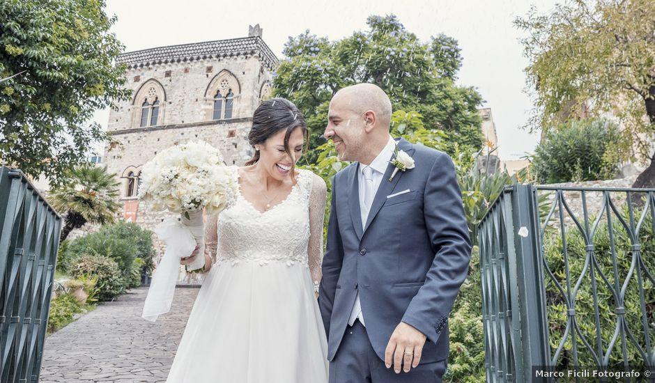 Il matrimonio di Daisy e Sergio a Taormina, Messina
