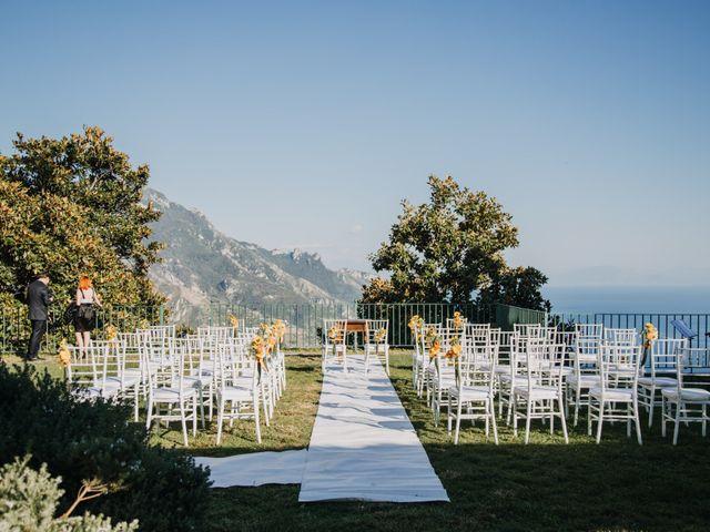 Il matrimonio di Gonzalo e Carmela a Ravello, Salerno 18