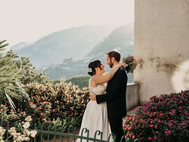Il matrimonio di Gonzalo e Carmela a Ravello, Salerno 36
