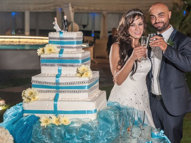 Il matrimonio di Salvatore e Rosalia a Terzigno, Napoli 1