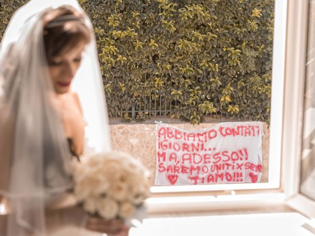 Il matrimonio di Salvatore e Rosalia a Terzigno, Napoli 20
