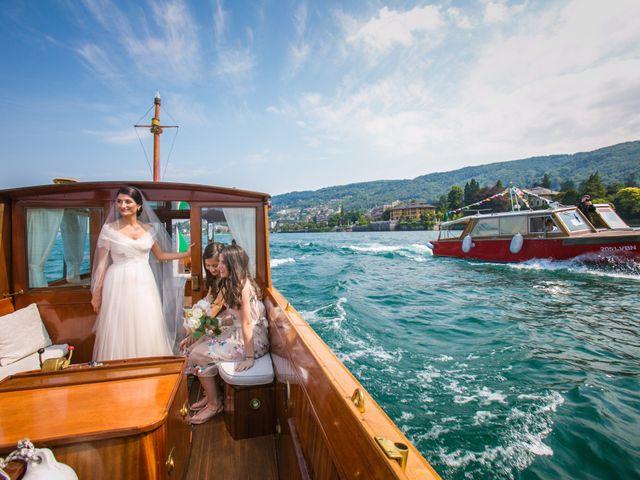 Il matrimonio di Michele e Luciana a Stresa, Verbania 78