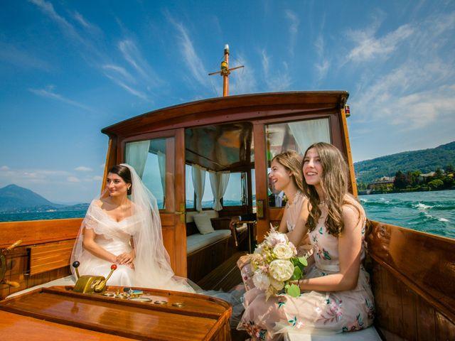Il matrimonio di Michele e Luciana a Stresa, Verbania 79