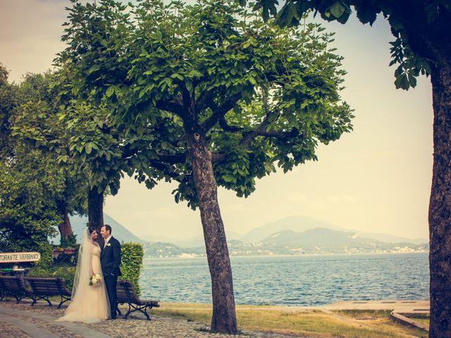 Il matrimonio di Michele e Luciana a Stresa, Verbania 95