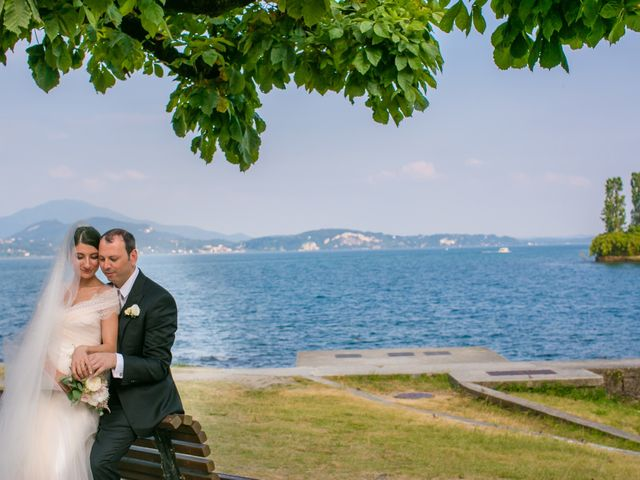 Il matrimonio di Michele e Luciana a Stresa, Verbania 96