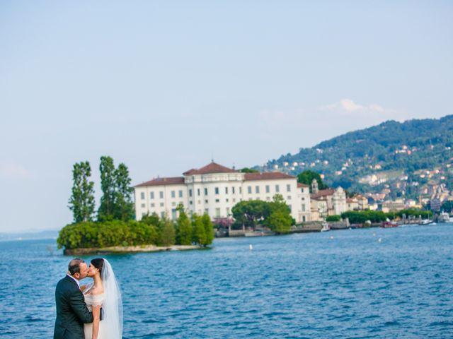 Il matrimonio di Michele e Luciana a Stresa, Verbania 122