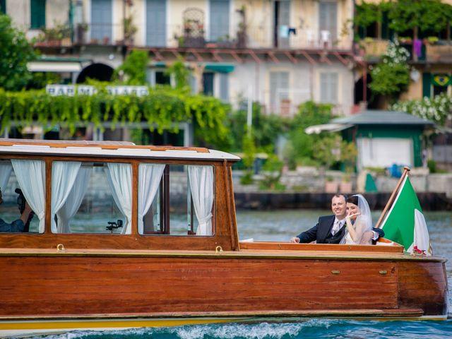 Il matrimonio di Michele e Luciana a Stresa, Verbania 125
