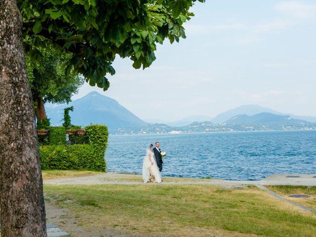 Il matrimonio di Michele e Luciana a Stresa, Verbania 156