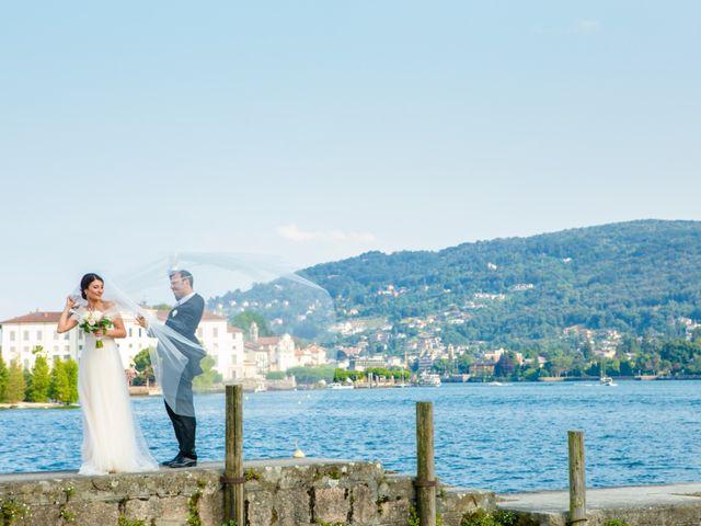 Il matrimonio di Michele e Luciana a Stresa, Verbania 159