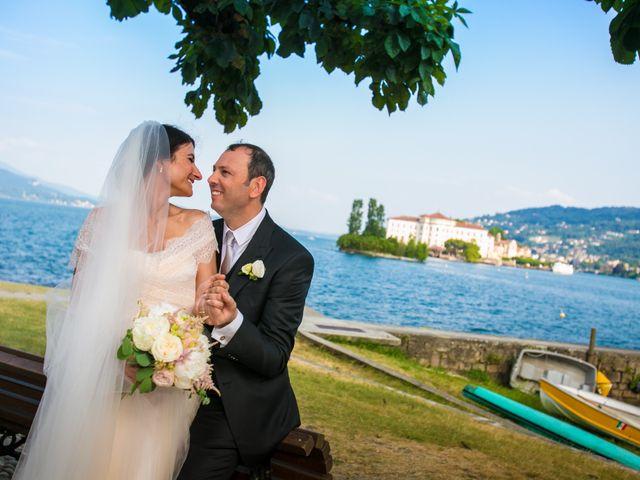 Il matrimonio di Michele e Luciana a Stresa, Verbania 182