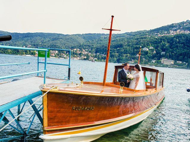 Il matrimonio di Michele e Luciana a Stresa, Verbania 184