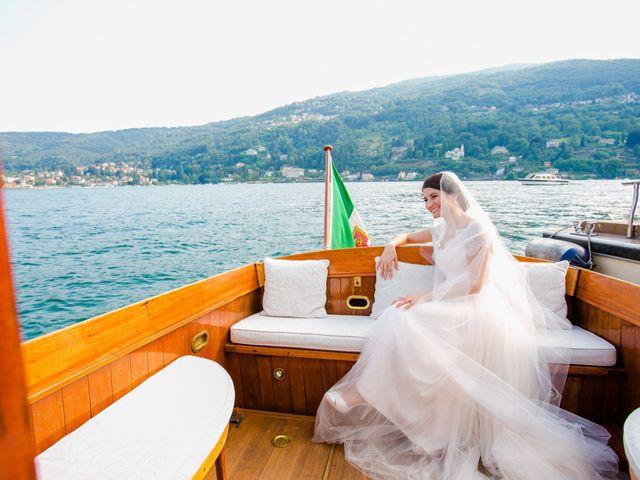 Il matrimonio di Michele e Luciana a Stresa, Verbania 186
