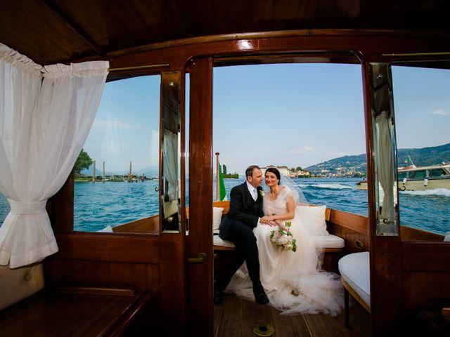 Il matrimonio di Michele e Luciana a Stresa, Verbania 189