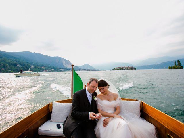 Il matrimonio di Michele e Luciana a Stresa, Verbania 190