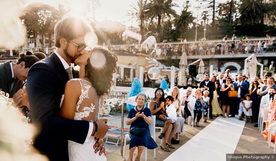 Il matrimonio di Andrea e Annalisa a Sanremo, Imperia