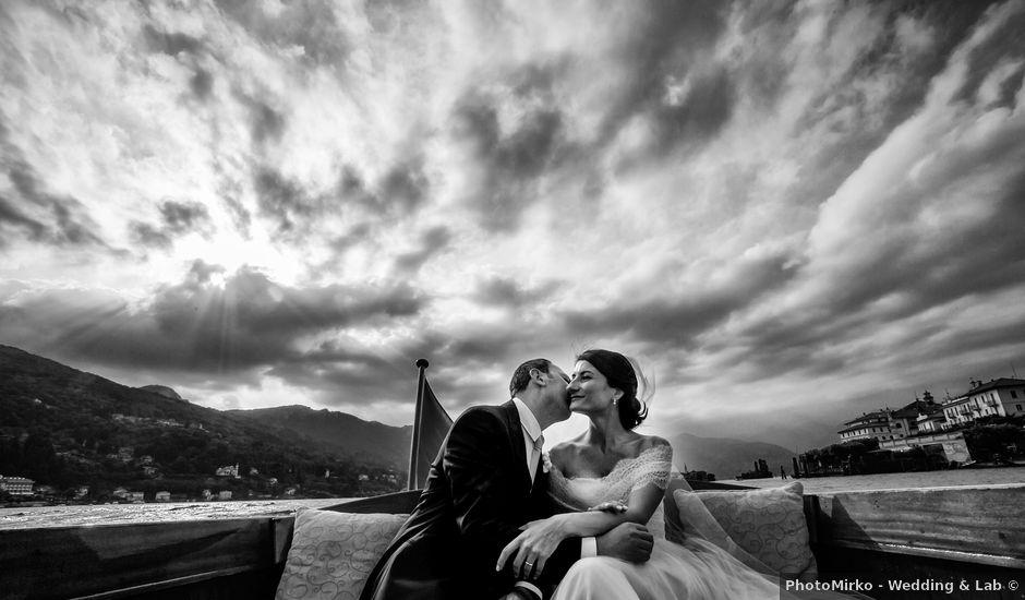 Il matrimonio di Michele e Luciana a Stresa, Verbania