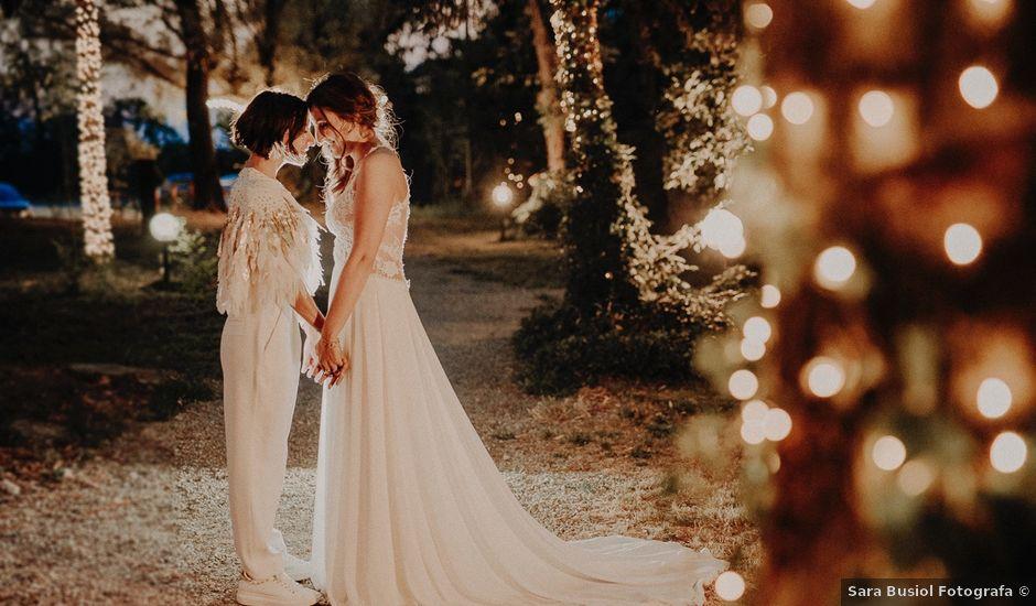 Il matrimonio di Flor e Sally a Milano, Milano
