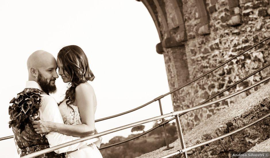 Il matrimonio di Alessio e Silvia a Bracciano, Roma