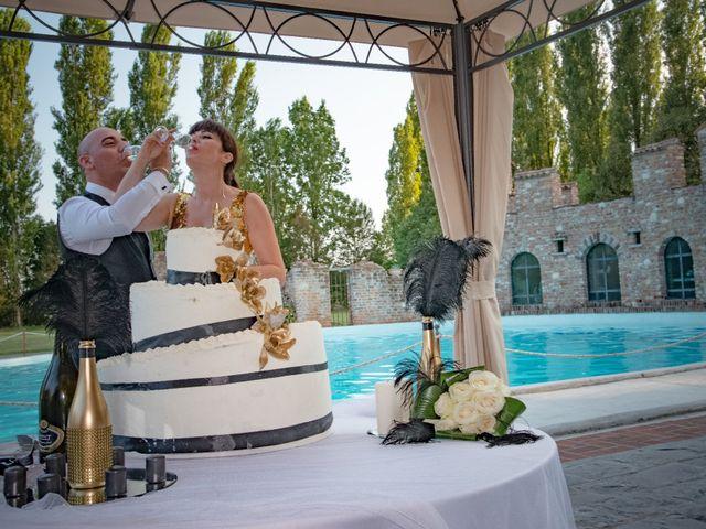 le nozze di Oana e Roberto