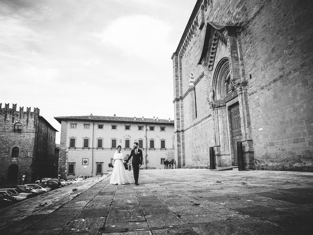 Il matrimonio di Marco e Lucia a Arezzo, Arezzo 34