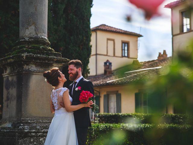 Il matrimonio di Marco e Lucia a Arezzo, Arezzo 40