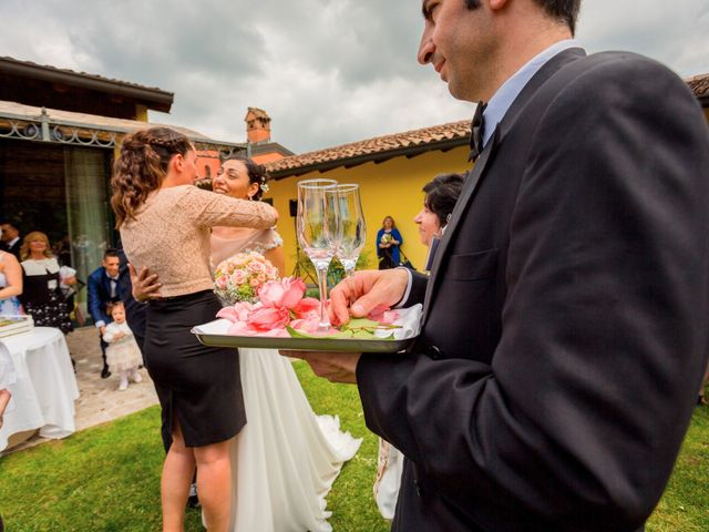 Il matrimonio di Matteo e Valentina a Salvirola, Cremona 73