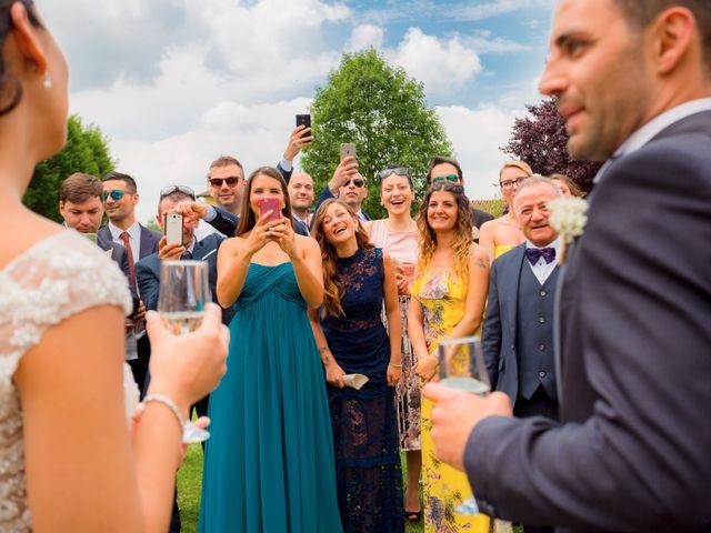 Il matrimonio di Matteo e Valentina a Salvirola, Cremona 74