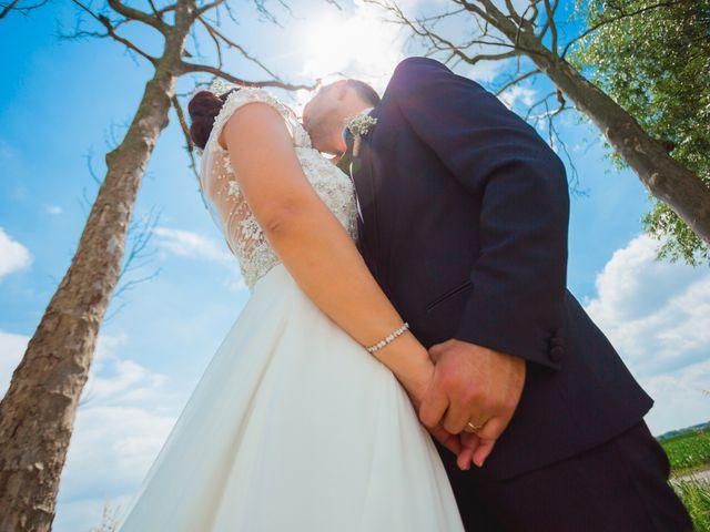 Il matrimonio di Matteo e Valentina a Salvirola, Cremona 98