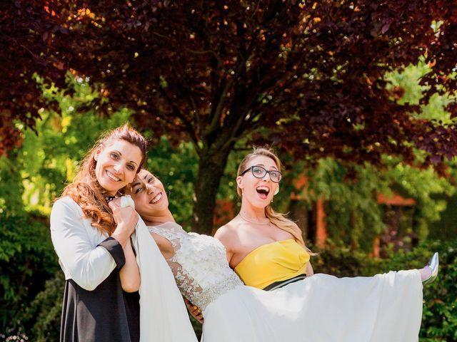 Il matrimonio di Matteo e Valentina a Salvirola, Cremona 121