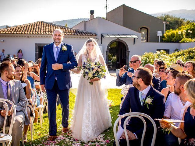 Il matrimonio di Eric e Hannah a Taormina, Messina 15