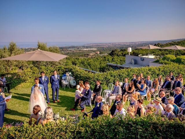 Il matrimonio di Eric e Hannah a Taormina, Messina 20