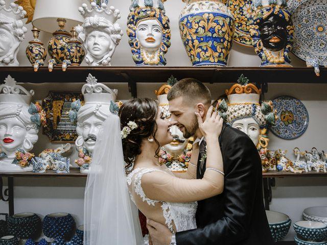 Il matrimonio di Denise e Vito a Ramacca, Catania 1