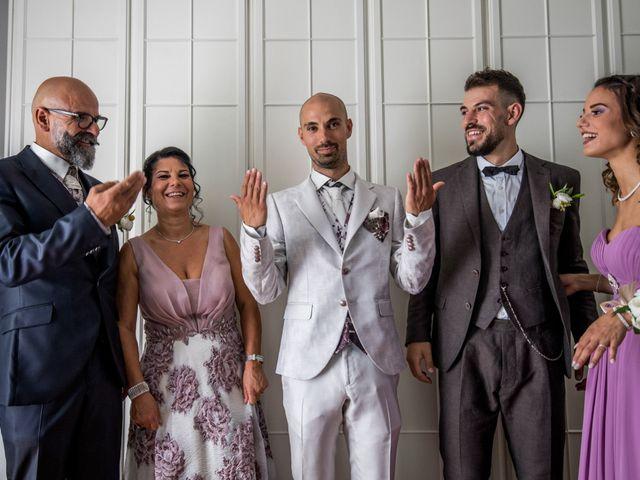 Il matrimonio di Nicola e Elena a Montefano, Macerata 30
