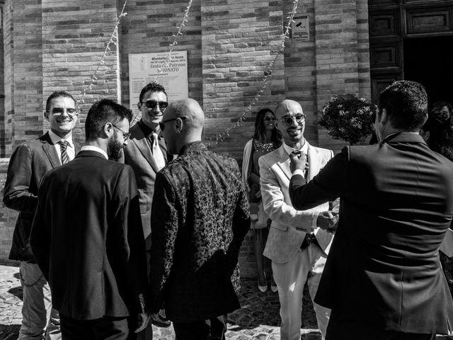 Il matrimonio di Nicola e Elena a Montefano, Macerata 34