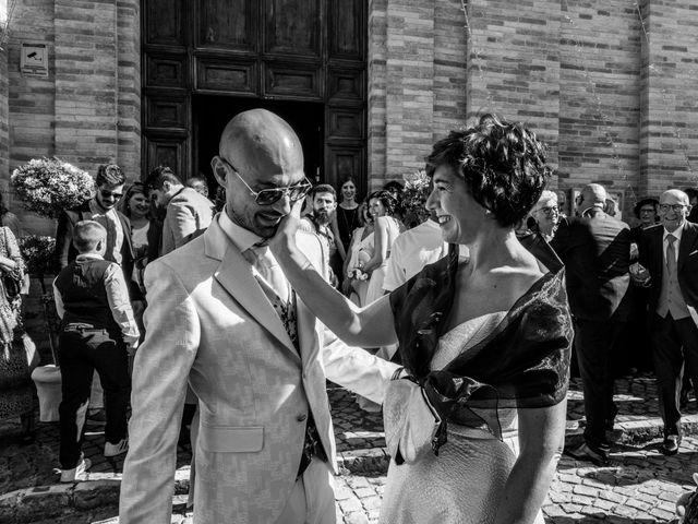 Il matrimonio di Nicola e Elena a Montefano, Macerata 37