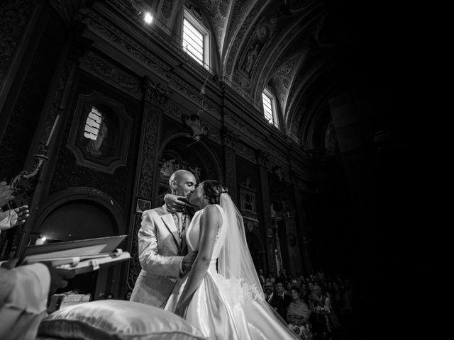 Il matrimonio di Nicola e Elena a Montefano, Macerata 54