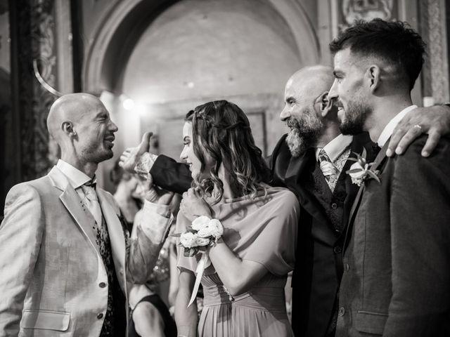 Il matrimonio di Nicola e Elena a Montefano, Macerata 65