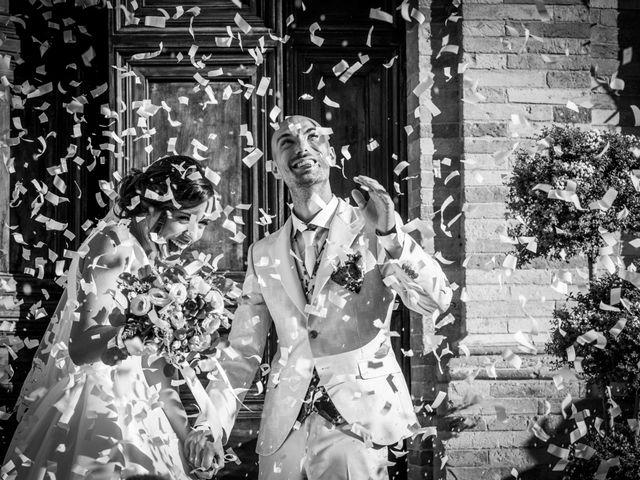 Il matrimonio di Nicola e Elena a Montefano, Macerata 68