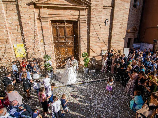 Il matrimonio di Nicola e Elena a Montefano, Macerata 69