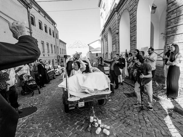 Il matrimonio di Nicola e Elena a Montefano, Macerata 72