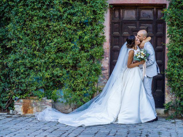 Il matrimonio di Nicola e Elena a Montefano, Macerata 73