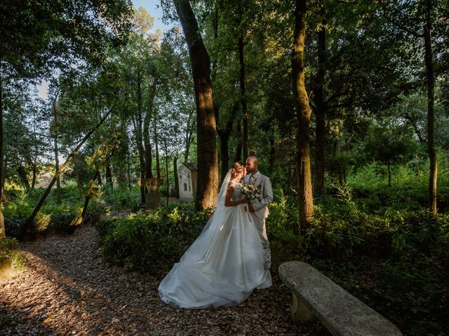 Il matrimonio di Nicola e Elena a Montefano, Macerata 83